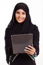 Arabian Girl Tablet Royalty Free Stock Images - 29836979