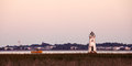 Old Lighthouse At The Cockspur Island Royalty Free Stock Images - 29839029