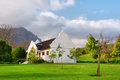 Traditional Cape Dutch House After Rain Royalty Free Stock Images - 29839269