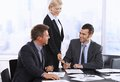 Businessman Signing Contract Stock Image - 29845751