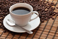 Coffee Cup And Beans Stock Photos - 29852293