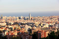 Barcelona Vista Royalty Free Stock Photography - 29853337