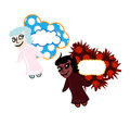 Angel And Devil Stock Images - 29857564