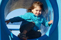 Little Girl In Playground Royalty Free Stock Image - 29860786