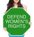 Defend Women S Rights Royalty Free Stock Photo - 29864775
