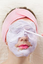 Facial Mask Royalty Free Stock Photo - 29865365