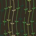 Plant Vines On A Wall_Seamless Pattern Royalty Free Stock Image - 29867536