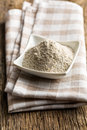 Wholemeal Flour In Ceramic Bowl Stock Photo - 29875610