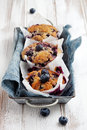 Blueberry Muffins Royalty Free Stock Images - 29902319