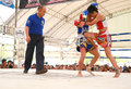 Women Thai Boxing Match Royalty Free Stock Images - 29905499