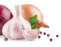 Garlic And Onion Royalty Free Stock Images - 29918639