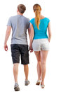 Back View Of Going Young Couple Stock Image - 29949831