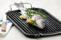 Whole Fish On A Grill Stock Photos - 29973873