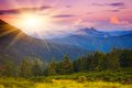 Evening Sun In The Mountains Royalty Free Stock Image - 29980696