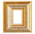 Vintage Gold Wood Frame Stock Images - 29982134