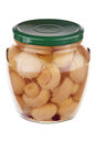 Pickled Mushrooms Royalty Free Stock Images - 29985289