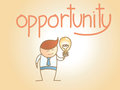 Business Man New Idea Opportunity Stock Photography - 29993002