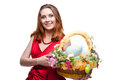 Cheerful Easter Woman Royalty Free Stock Images - 29998569