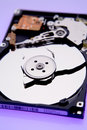 Broken Disc On Hard Drive Royalty Free Stock Photo - 3005255