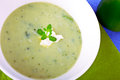 Green Soup Royalty Free Stock Image - 30003746
