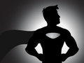 Superhero Silhouette Vector Royalty Free Stock Photos - 30005178