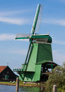 Holland Windmill In Summer Royalty Free Stock Image - 30015176