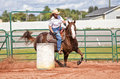 Barrel Racer Royalty Free Stock Images - 30022439