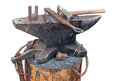 Old Anvil With Blacksmith Tools Royalty Free Stock Photography - 30027017