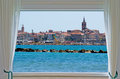 Alghero And Window Royalty Free Stock Photography - 30027657