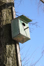 Old Bird House. Royalty Free Stock Image - 30027716