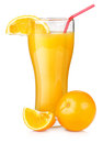 Orange Juice In A Glass Royalty Free Stock Image - 30039386