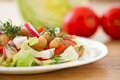 Fresh Salad With Beans Royalty Free Stock Photo - 30061985