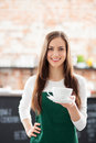 Waitress Serving Coffee Stock Images - 30081354