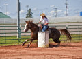 Barrel Racer Royalty Free Stock Photos - 30088058