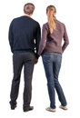 Back View Of Young Couple Royalty Free Stock Image - 30108746