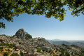 Old Sicilian Mountain Village Caltabellotta Royalty Free Stock Images - 30109179