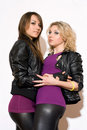 Pleasing Two Young Women Stock Images - 30120774