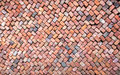 Colorful Wall Of Loosely Piled Bricks Stock Photography - 30134482