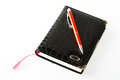 Notebook With Pen Royalty Free Stock Photography - 30134617