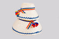 Traditional Romanian Hats Made Of Straws, Specific For The Northern Part Of The Country- Maramures Stock Photos - 30140753