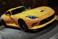 2014 SRT Viper TA Showcased At The New York International Auto Show Royalty Free Stock Photo - 30142275