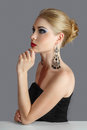 Blonde Woman Looking Away Royalty Free Stock Image - 30143666