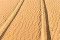Of- Road Car Track In Desert Royalty Free Stock Photo - 30145435
