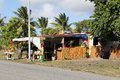 Typical Roadside Fruit Stand In Antigua Barbuda Stock Images - 30146184
