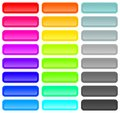 Abstract Rainbow Colorful Vector Curve Lines Background Stock Images - 30155364