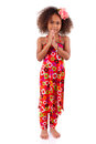 Cute Young African Asian Girl - Asian Children Royalty Free Stock Photo - 30155705