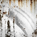 Grunge Background Of Old Metal With Traces Of Rust And Paint Royalty Free Stock Photo - 30157925
