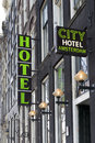 Hotel Sign Stock Images - 30183044