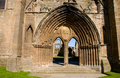 Entrance To Elgin Cathedral Stock Photos - 3022523