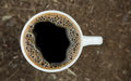 Close-up Cup Of Fresh Coffee Stock Images - 30206384